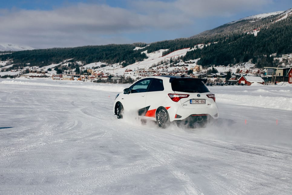 I'm addicted to ice, and the Toyota 86 is my gateway drug