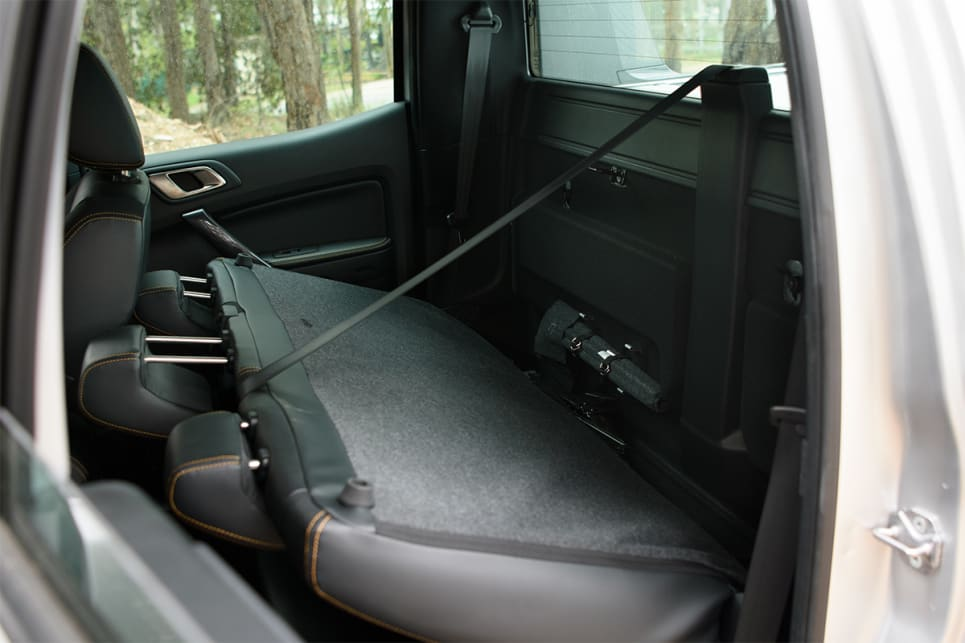 Both have flexible rear seats that allow you to raise/lower the backrest and also the seat base.