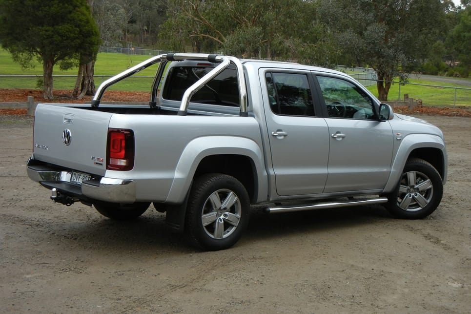The V6 Amarok will soon be surpassed in power when Mercedes-Benz releases a V6 X-Class ute, however.