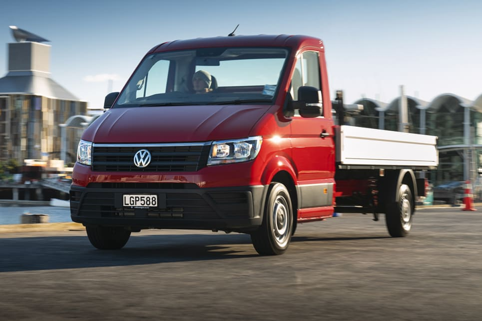 Volkswagen Crafter Single Cab 2018 review: snapshot | CarsGuide