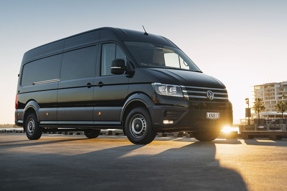 The Crafter Van is offered in three roof heights; standard, high and super high. A twin-rear wheel version is also available.