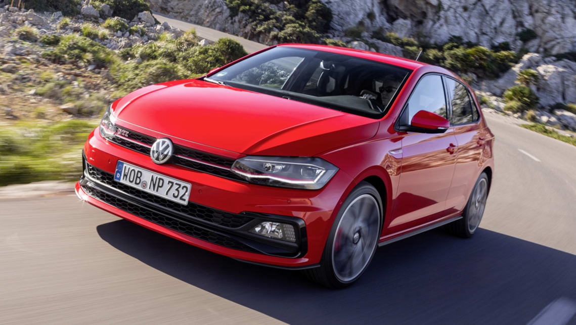 volkswagen polo gti 2018 pricing and spec confirmed car news carsguide. Black Bedroom Furniture Sets. Home Design Ideas