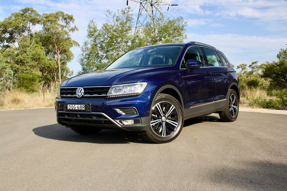 The Volkswagen Tiguan offers a range of four-cylinder engines.