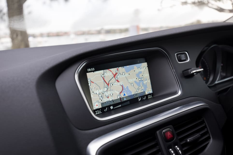 There's a 7.0-inch touchscreen with reversing camera, sat nav, digital radio, and internet connectivity – but no Apple CarPlay or Android Auto. (image credit: Richard Berry)