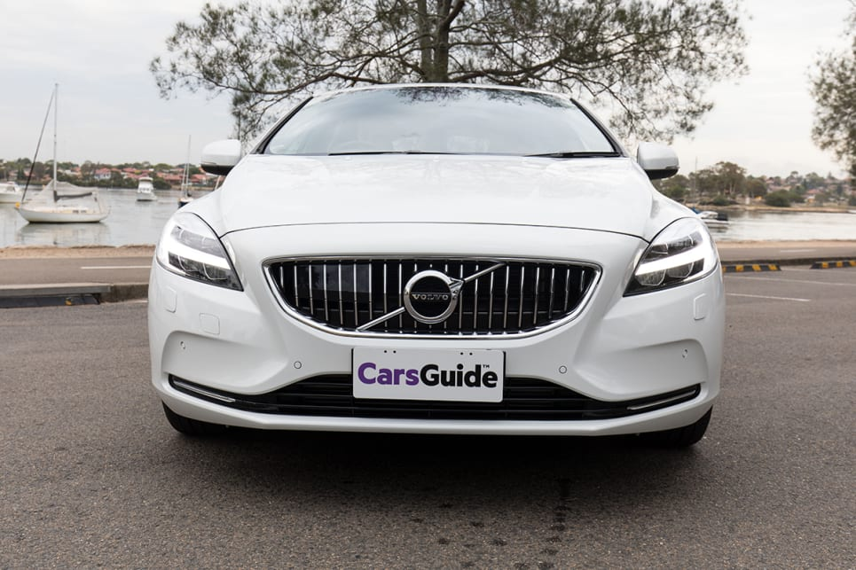 Volvo's new-generation vehicles now have a different look, which will be worn by the next V40, and that seriously dates the current car. (image credit: Richard Berry)