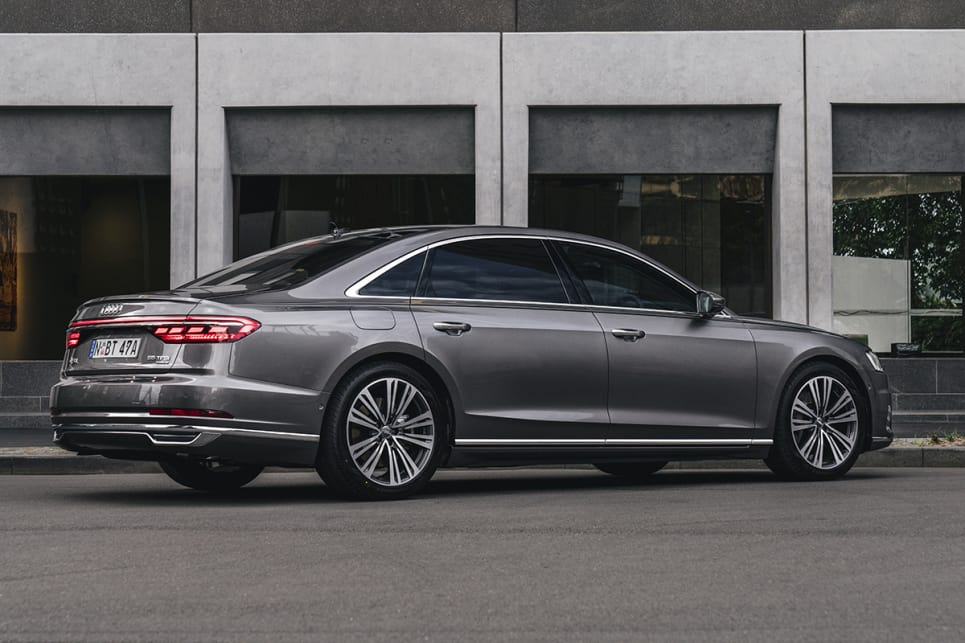 Audi A Review CarsGuide - Audi a8 2018