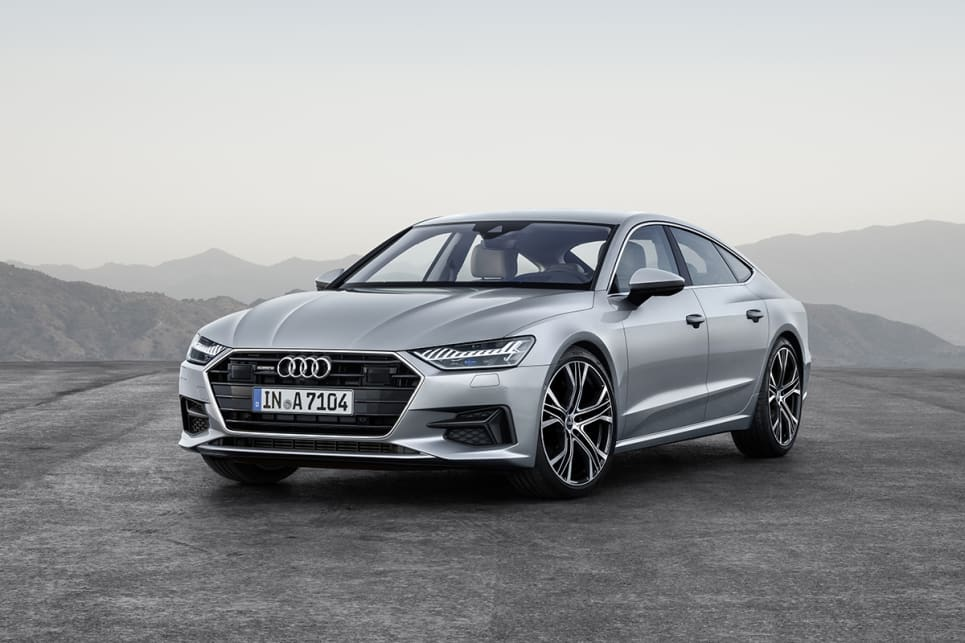 Delightful The New Audi Face Makes The Car Look Wider.