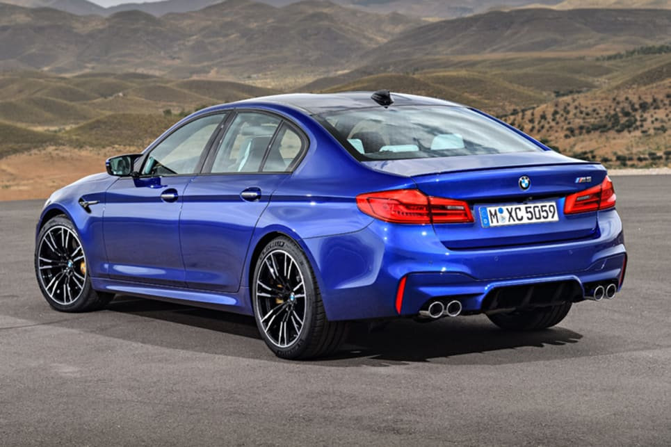 BMW M5 2018 pricing and spec confirmed - Car News | CarsGuide