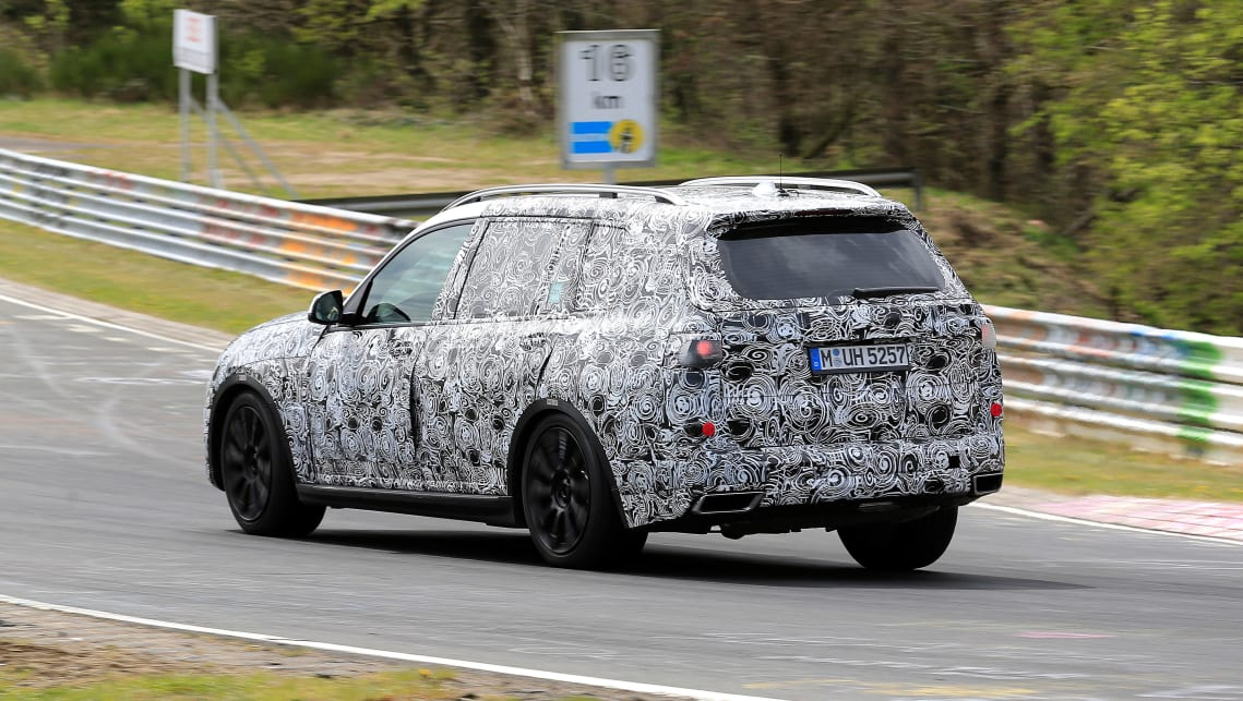 2018 BMW X7  spy pics  Car News  CarsGuide