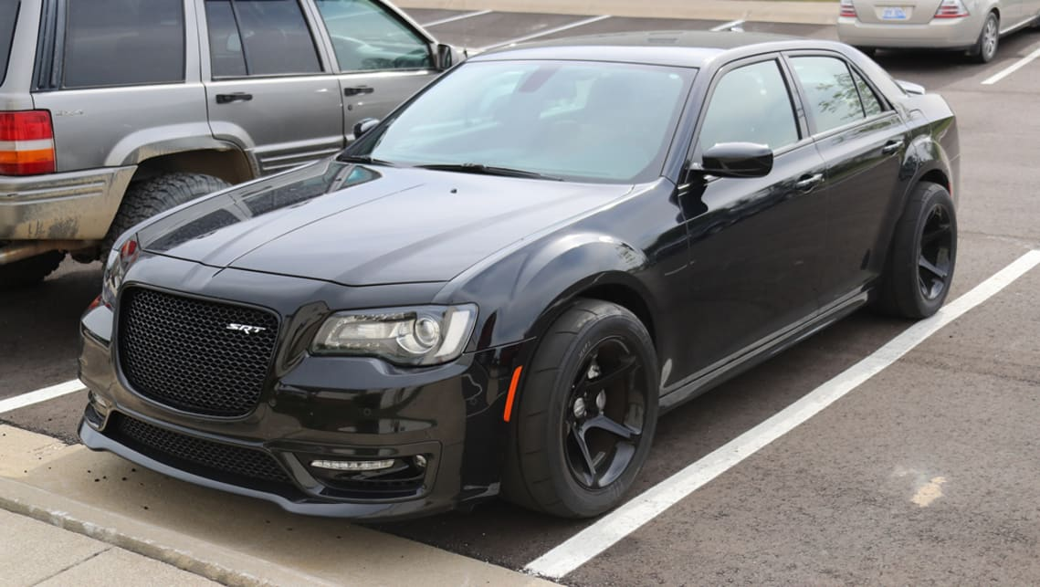 chrysler 300 srt demon 2018 spy shots car news carsguide. Black Bedroom Furniture Sets. Home Design Ideas