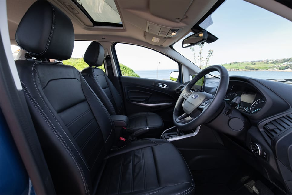 For a small SUV it has a fair amount of interior space compared to others in this category. (image credit: Dean McCartney)
