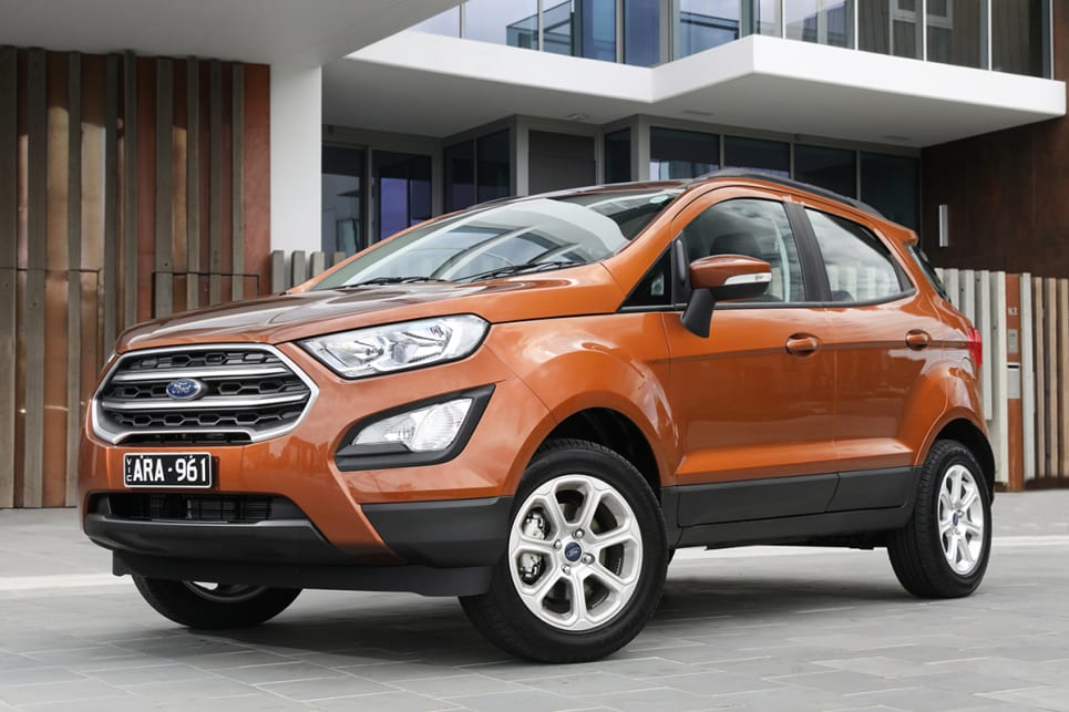 The Ecosport Has A New Bonnet New Headlights And A New Grille Shape