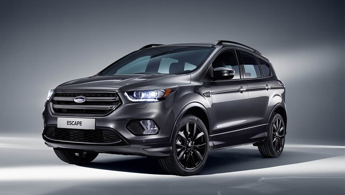 """2018 Ford Escape ST-Line: New """"sportiest Escape ever"""" joins the lineup - Car News 