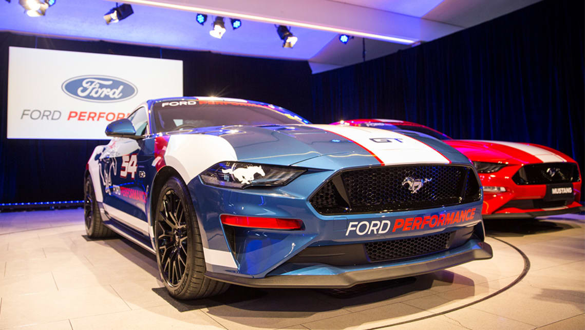 ford brings back the mustang to supercars car news carsguide. Black Bedroom Furniture Sets. Home Design Ideas