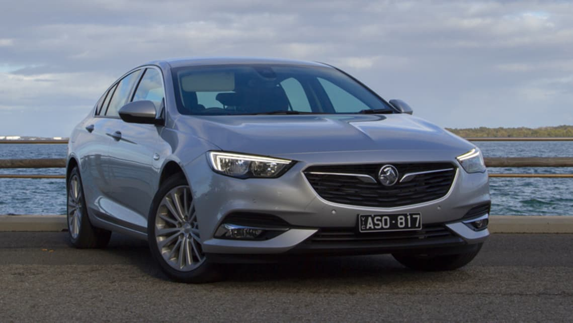 2018 Holden Calais shown. (image credit: Peter Anderson)