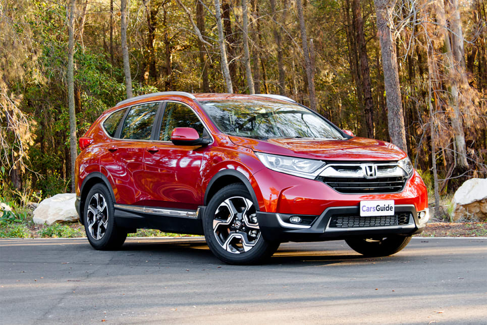 It's hard to call the CR-V a stylish vehicle.
