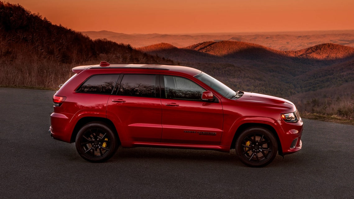 New Jeep Grand Cherokee 2019 >> 2018 Jeep Grand Cherokee Trackhawk revealed ahead of New York - Car News | CarsGuide
