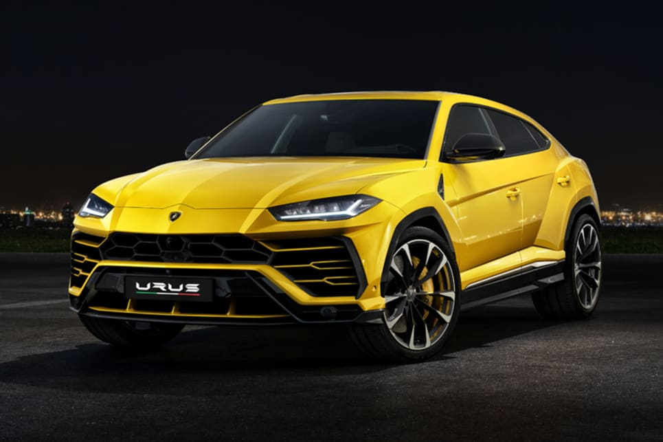Lamborghini Urus 2018 Revealed And Pricing And Spec Confirmed Car