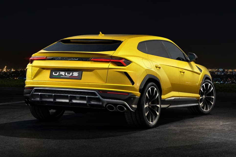 lamborghini urus 2018 revealed and pricing and spec confirmed - car