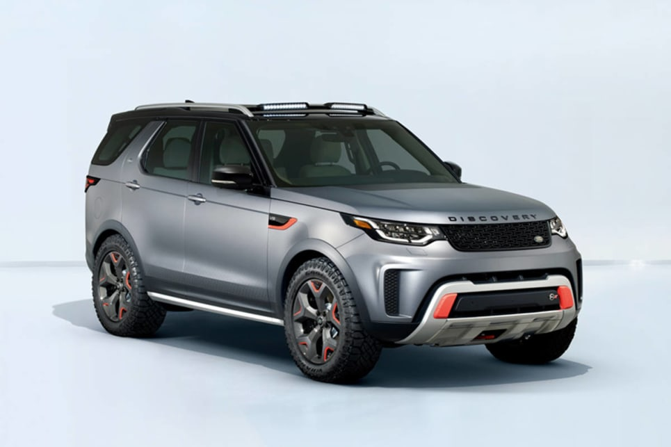 Land Rover Discovery Svx 2018 Revealed In Frankfurt Car
