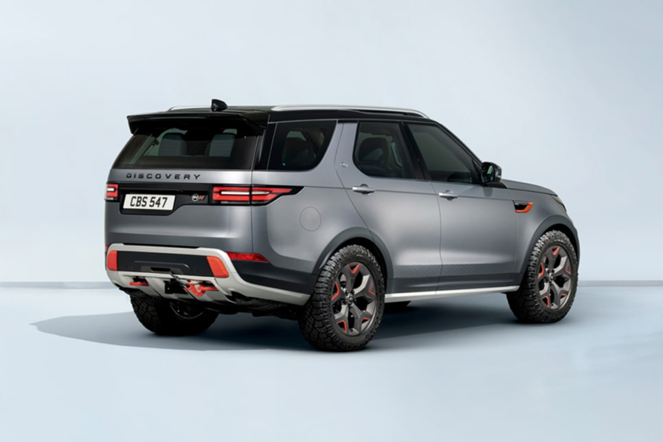 Land Rover Discovery Svx 2018 Revealed In Frankfurt Car News