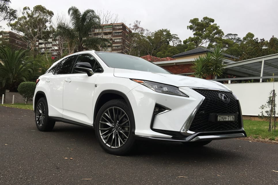 Lexus RX 2017 review: 200T F-Sport