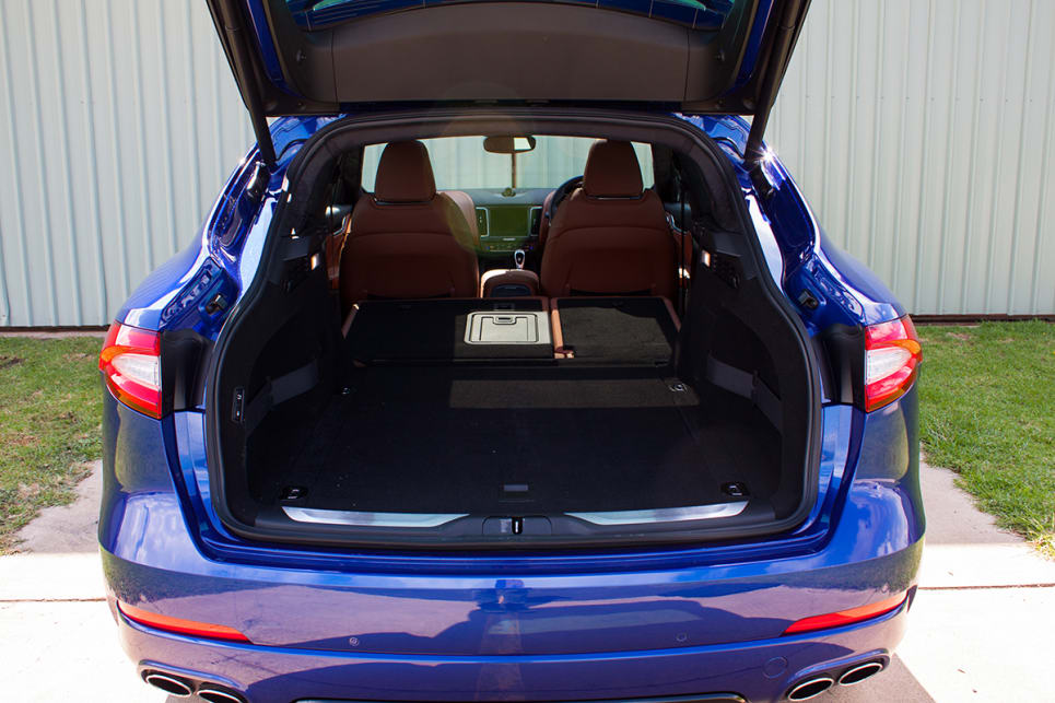 The Maserati Levante doesn't have the biggest or the smallest boot.
