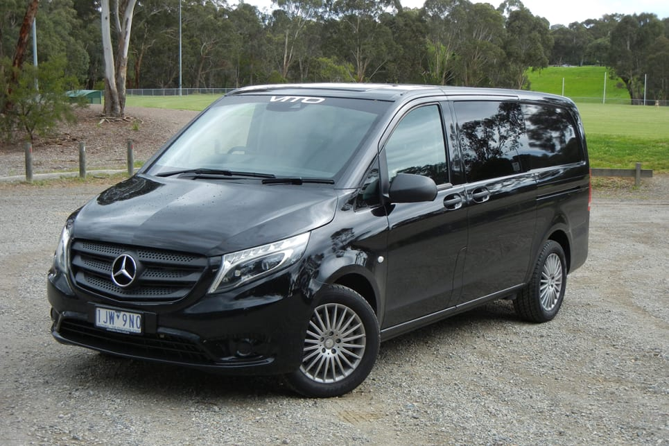 Mercedes Benz Vito 119 Crew Cab 2018 Review Carsguide