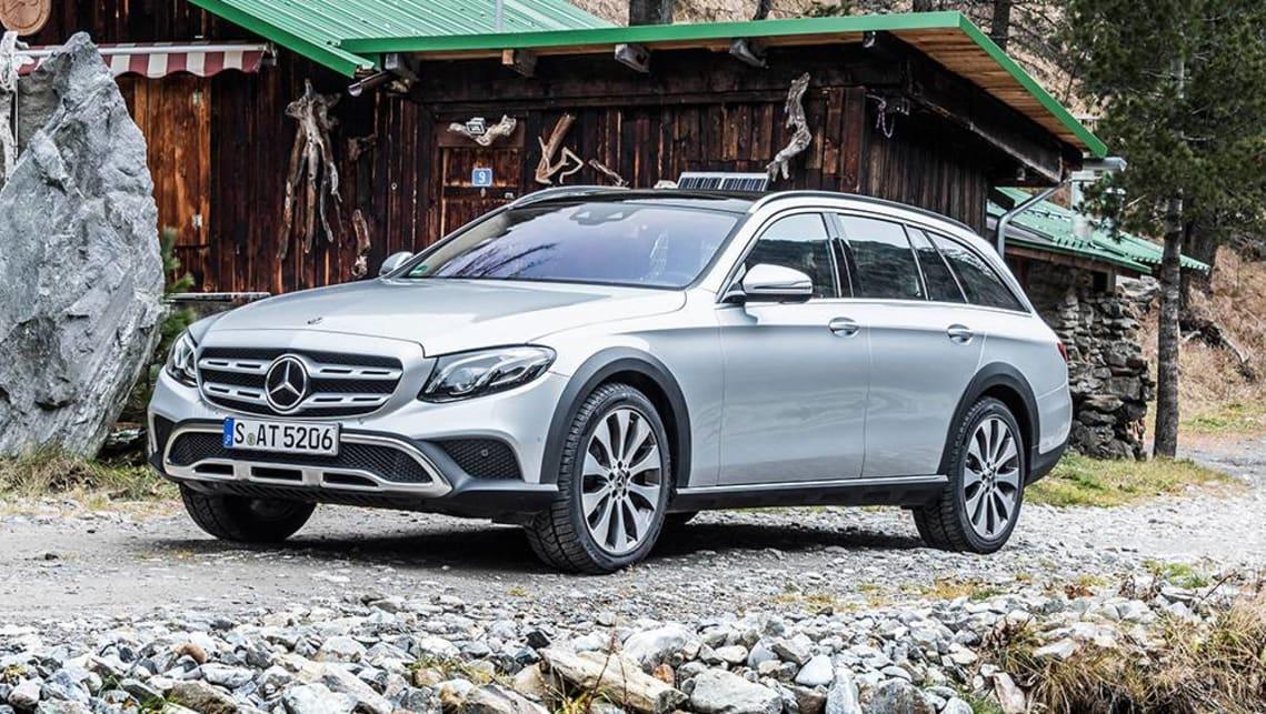 Mercedes Benz C Class All Terrain Wagon On The Table Car News