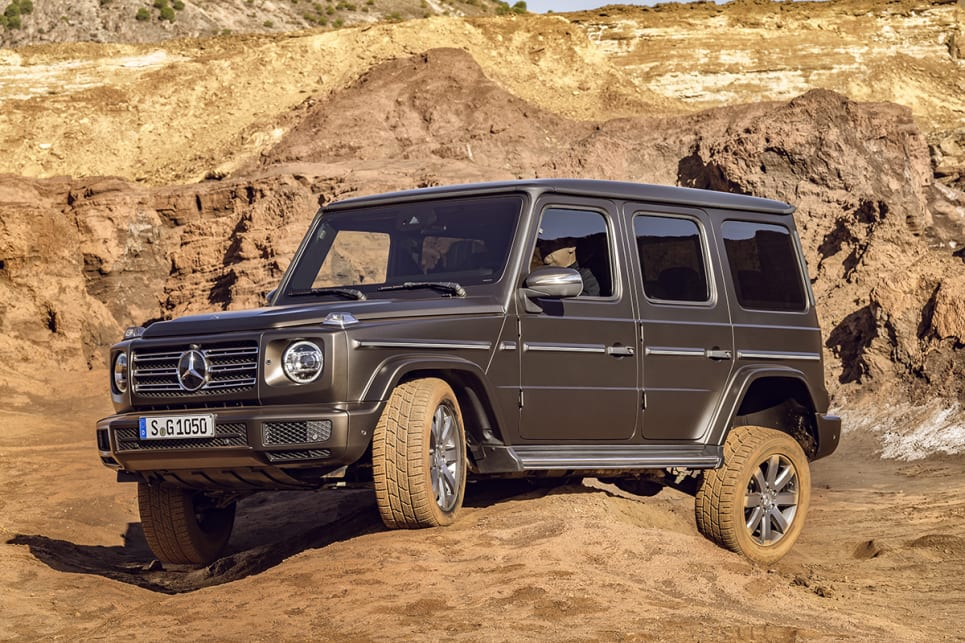 Mercedes benz g class 2018 revealed car news carsguide for New mercedes benz g wagon