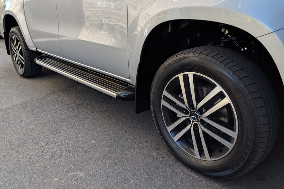 Our test car included the fancy 'Style Package' ($2490) that adds 19-inch alloy wheels.