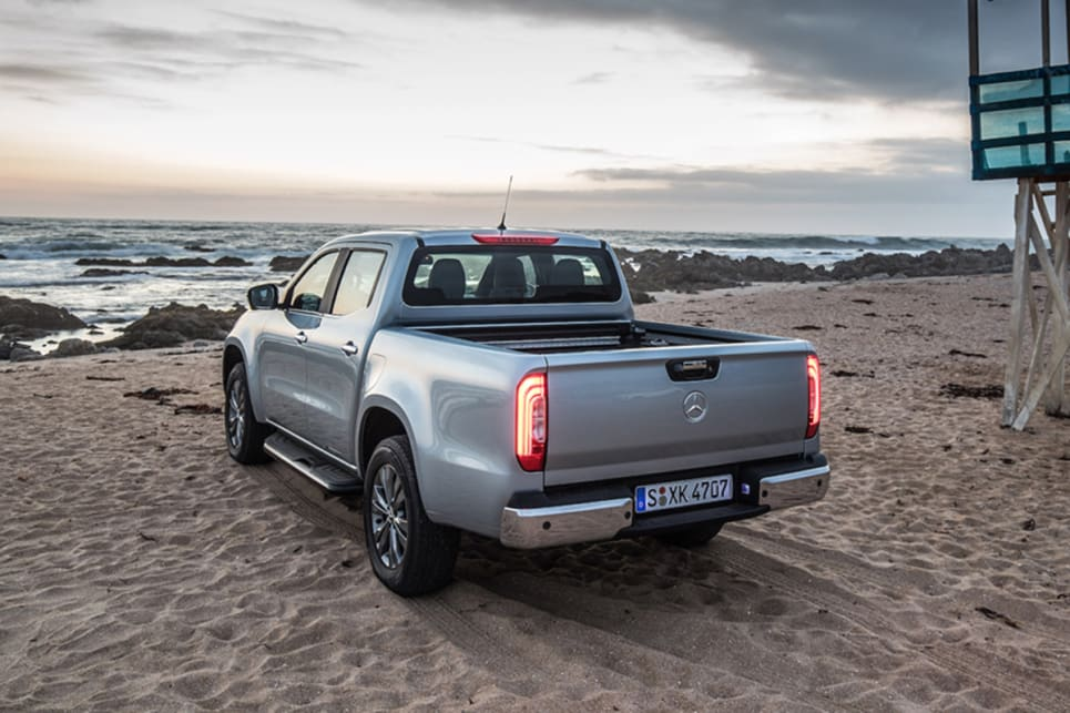 Offered exclusively as a dual-cab, the German hauler will have either a pick-up or cab chassis body style.