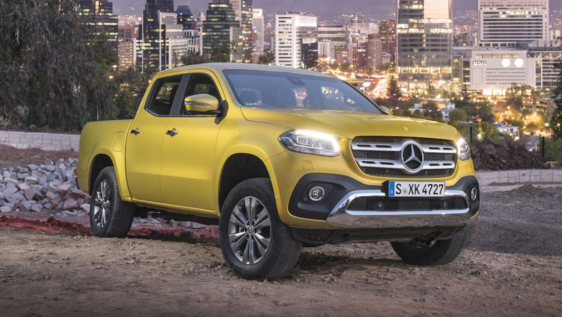 mercedes-benz x-class 2018 introduces new capped-price service plan