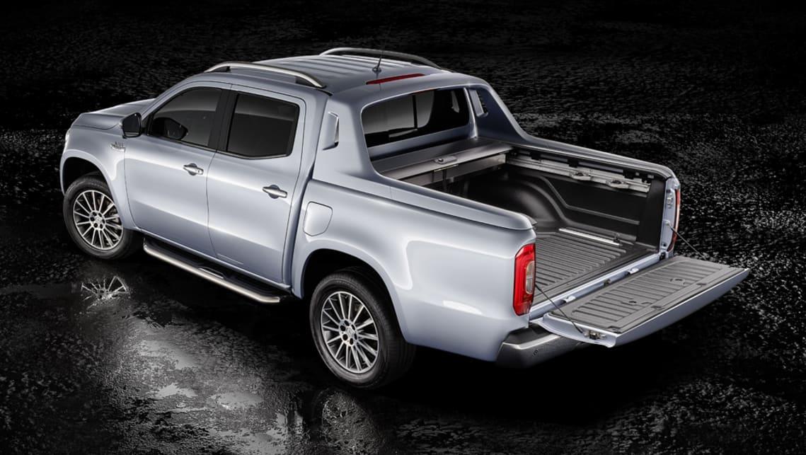 mercedes benz x class v6 confirmed for 2018 arrival car. Black Bedroom Furniture Sets. Home Design Ideas