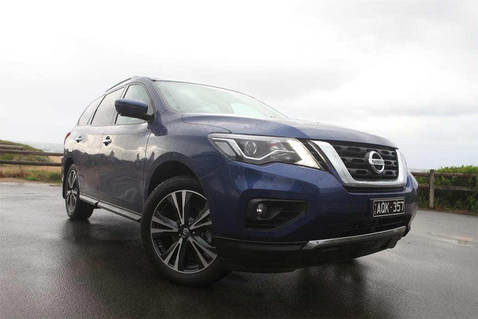 Nissan pathfinder ti review