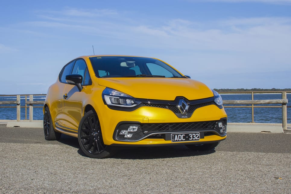 renault clio 2018 review rs cup carsguide. Black Bedroom Furniture Sets. Home Design Ideas