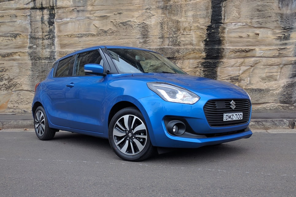 The third-generation Swift is 45kg lighter than the previous model. (image credit: Dan Pugh)