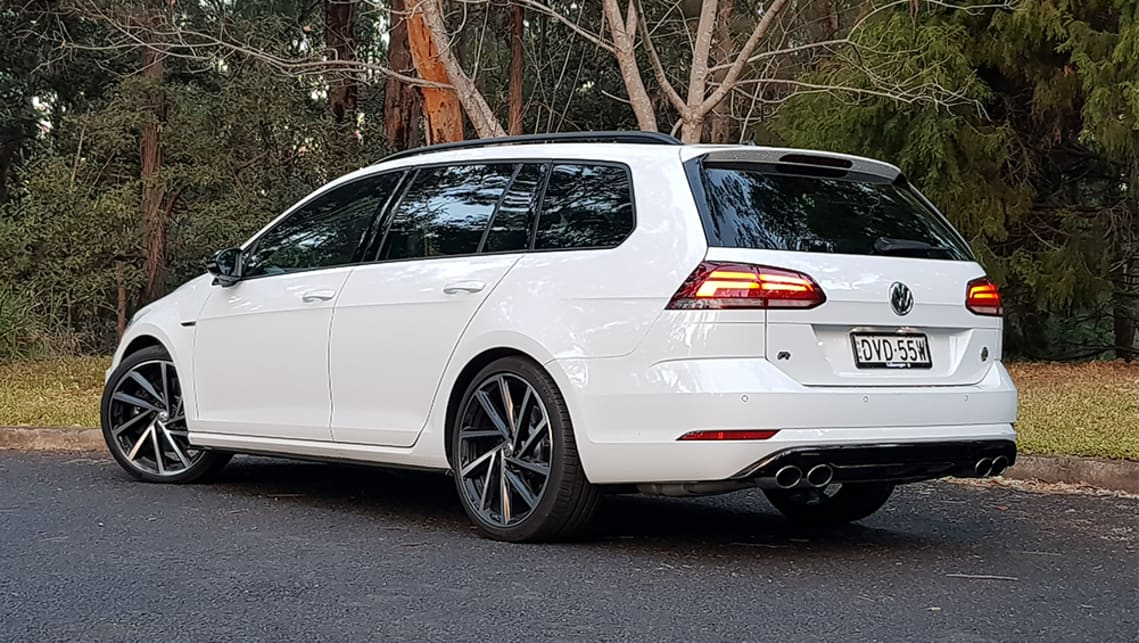 If it weren't for the wheels and quad exhaust tips you could easily fool most people that it's a regular little white wagon. (image credit: Mal Flynn)