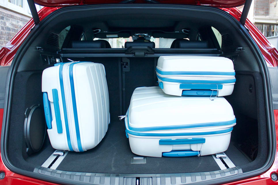 In the boot there is a 525-litre cargo capacity.