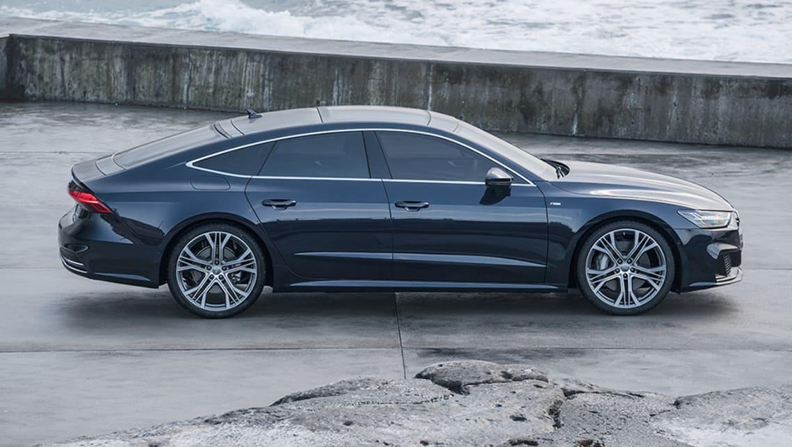 Expert Rating Reviews >> Audi A7 55 TFSI 2019 review: snapshot | CarsGuide