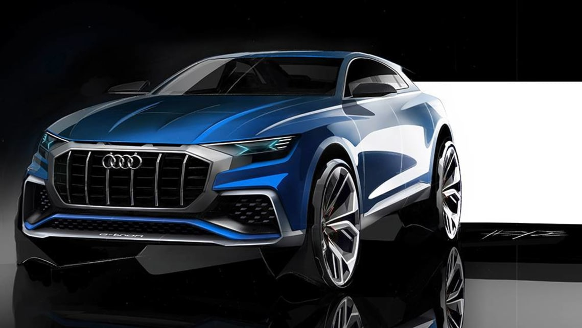 "The Q3-sized ""premium compact SUV concept"" will debut in Geneva on March 5."