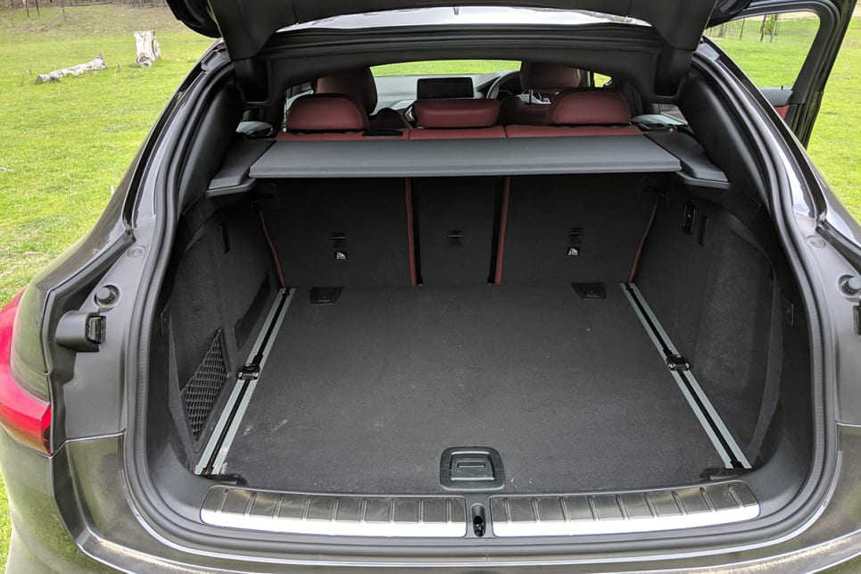 At 535 litres, the boot space sounds good, however the sloped roof line compromises the amount of useful space available.