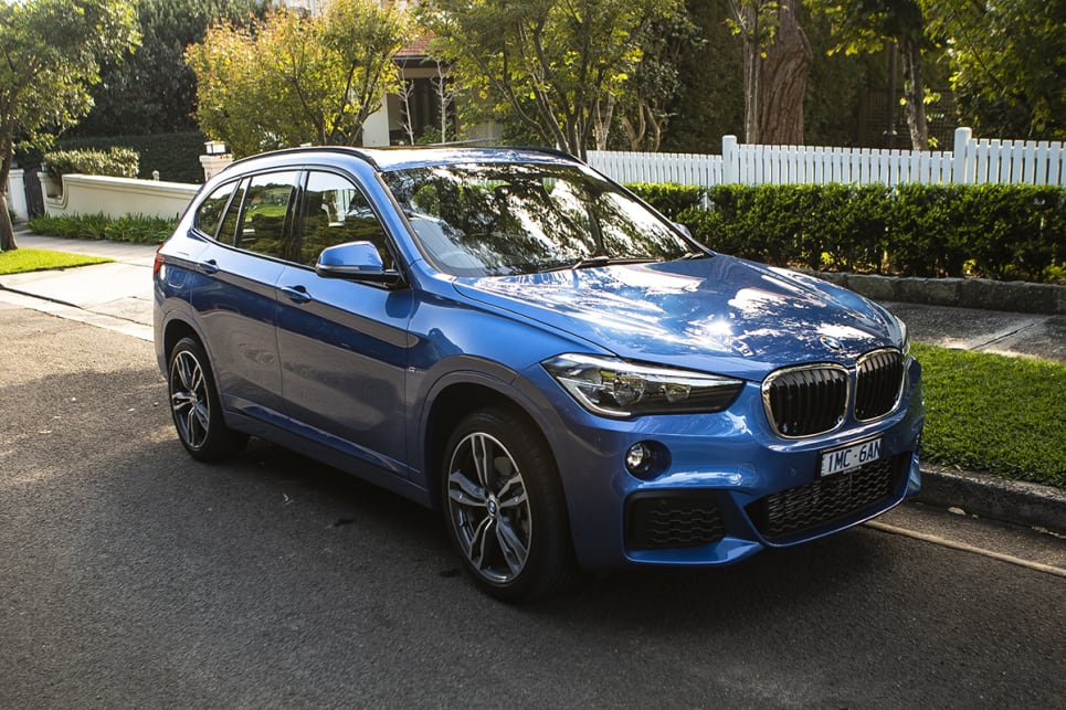 The X1 isn't your typical slick, sleek BMW that oozes luxurious style.