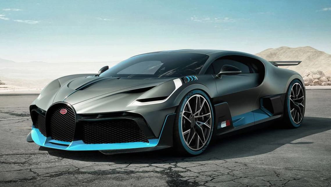 Bugatti Divo Coupe Grey X P on W16 Engine