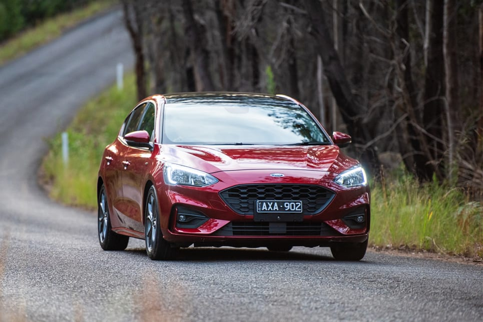 The Focus ST-Line lacked feedback and was too light, leaving the driver feeling disconnected.