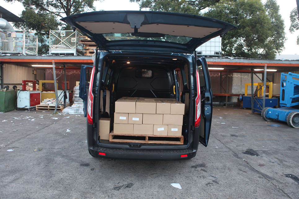 Our test vehicle does have great all-round versatility with regards to loading and load-carrying.