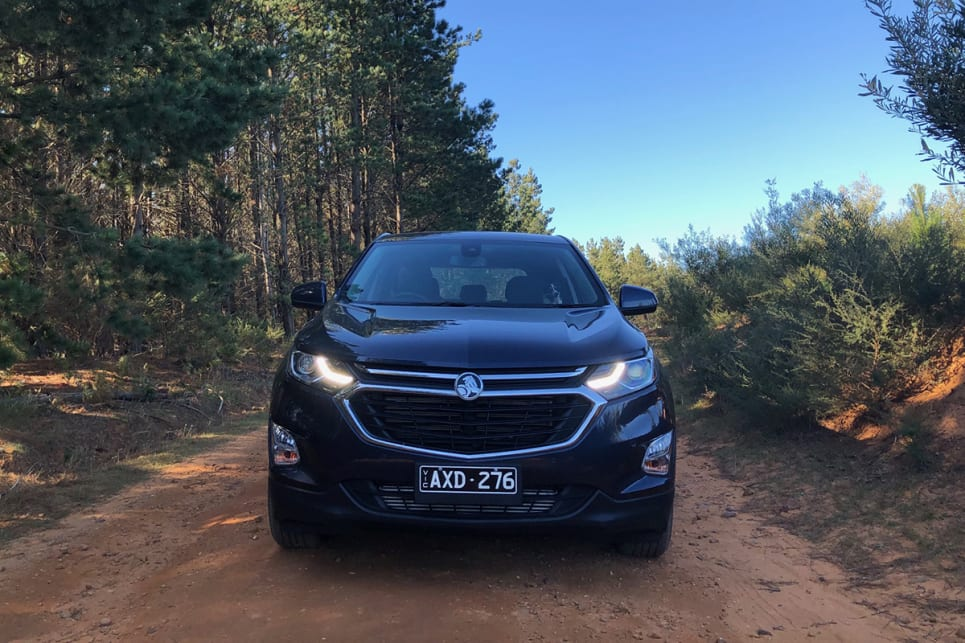 Holden made short work of the corrugated and loose dirt roads of Wingello, proving that a bit of ground clearance goes a long way.