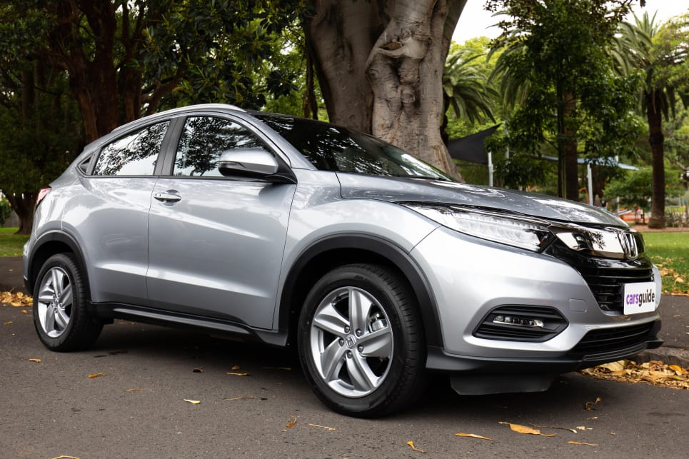 Despite relatively compact exterior dimensions, the Honda HR-V offers excellent interior space.