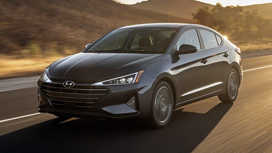 Hyundai Elantra 2019 Revealed Car News Carsguide
