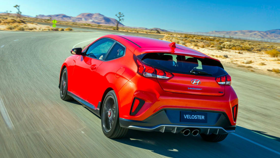 hyundai veloster 2018 revealed in detroit car news carsguide. Black Bedroom Furniture Sets. Home Design Ideas